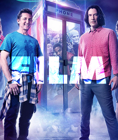Bill and Ted in cinemas now