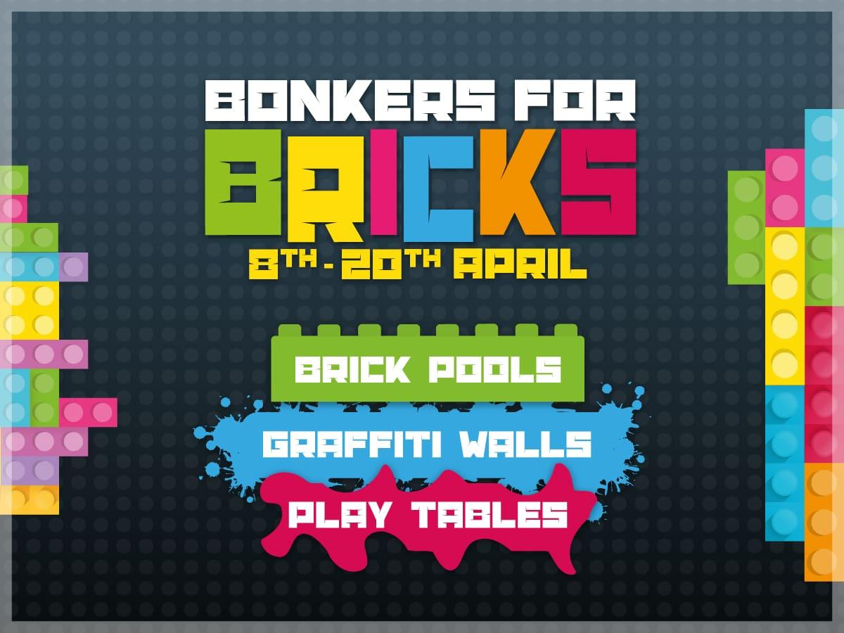 We're going bonkers for bricks this Easter!