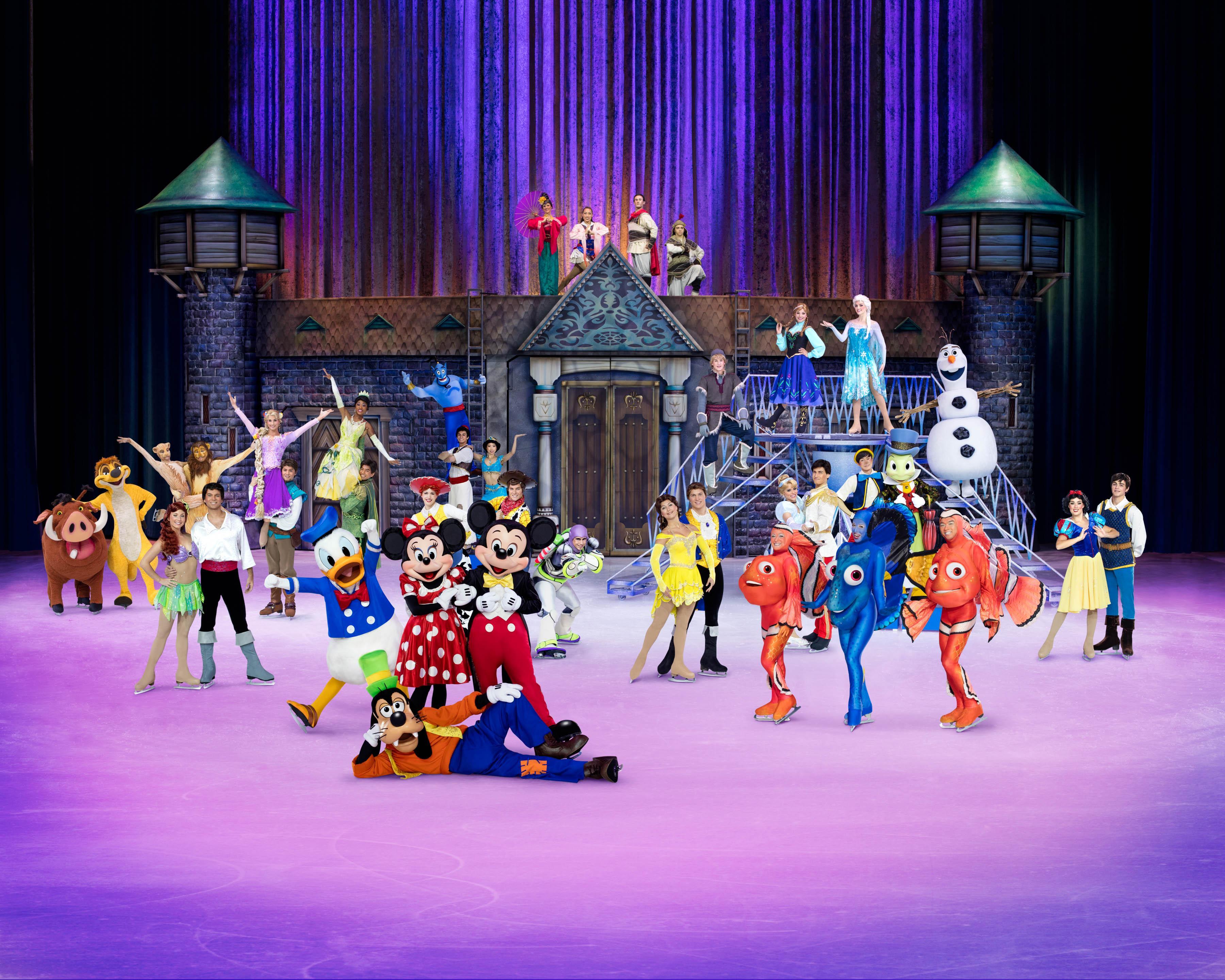 Disney On Ice celebrates