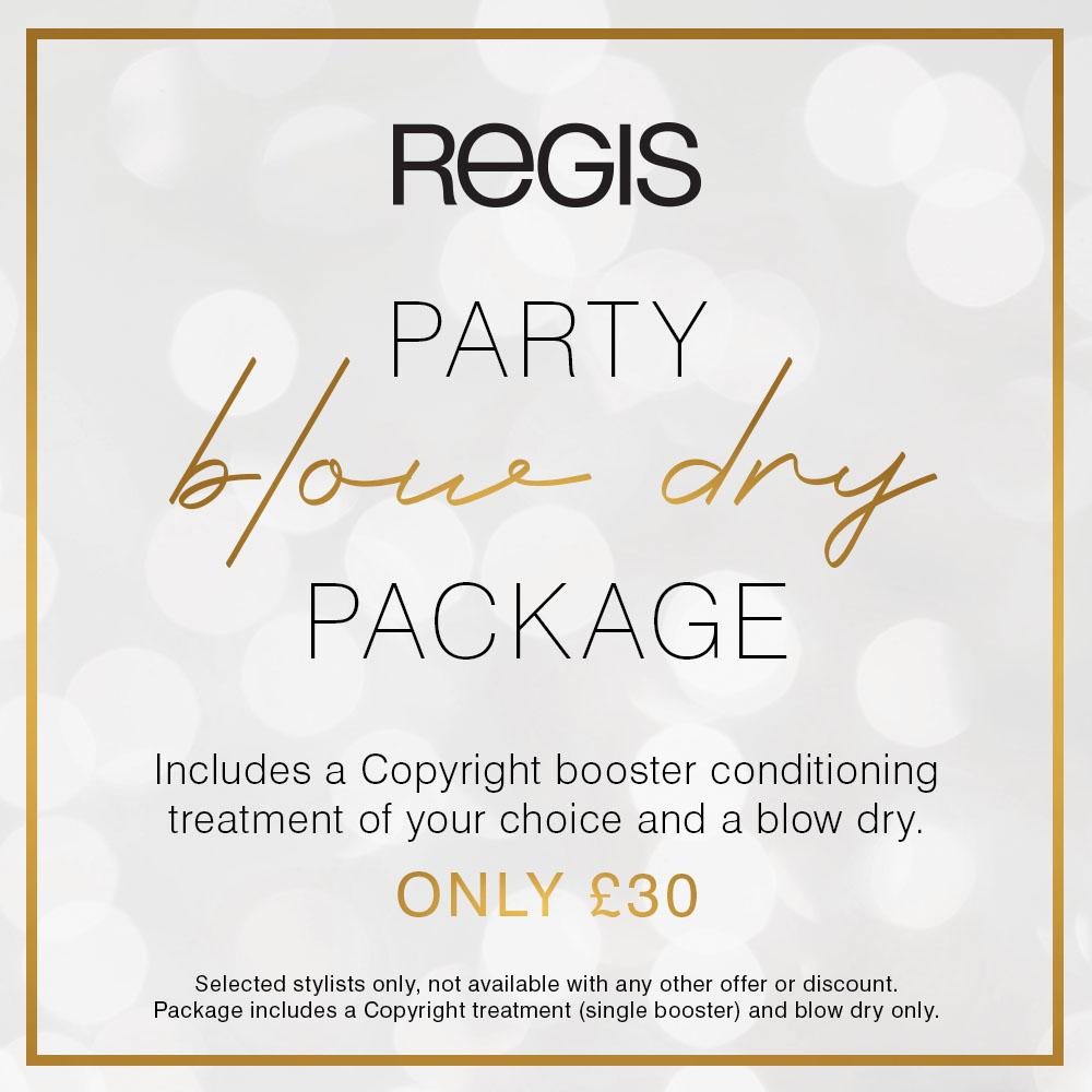 Blow Dry party package