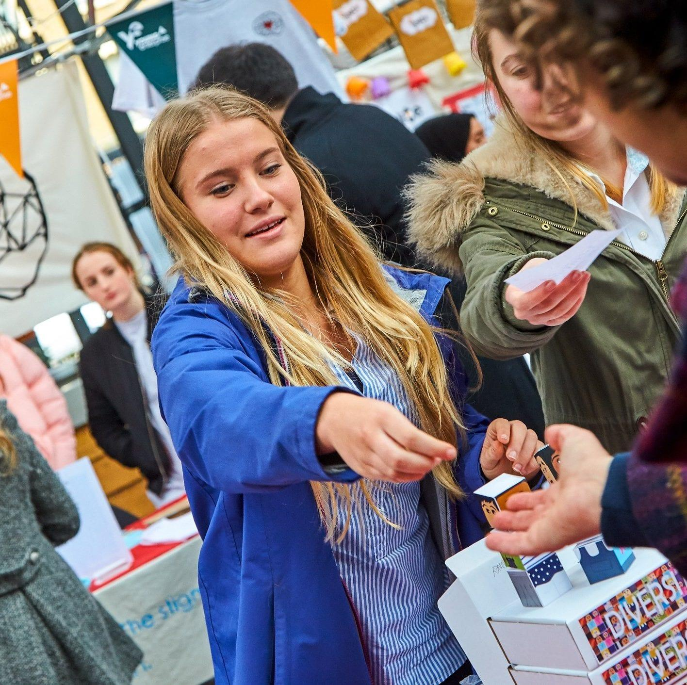 Essex Students take part in Young Enterprise Trade Fair