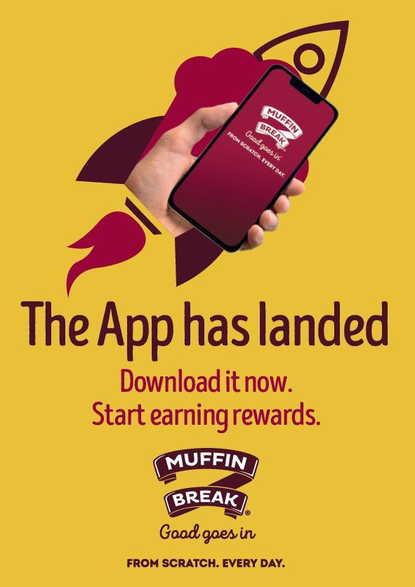 The App has landed at Muffin Break