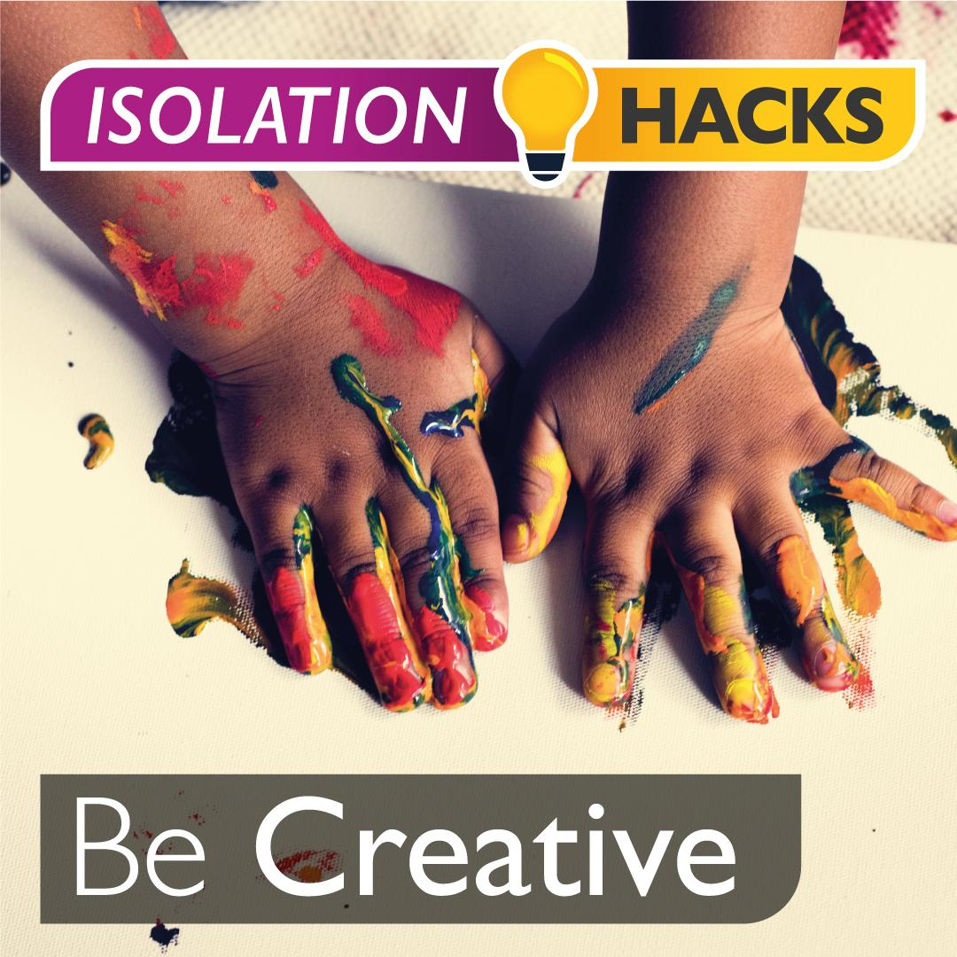 Be Creative: Hand/finger painting