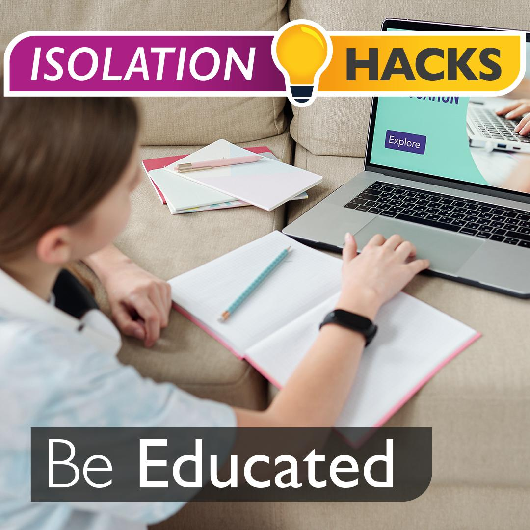 Be Educated: Small space homeschooling