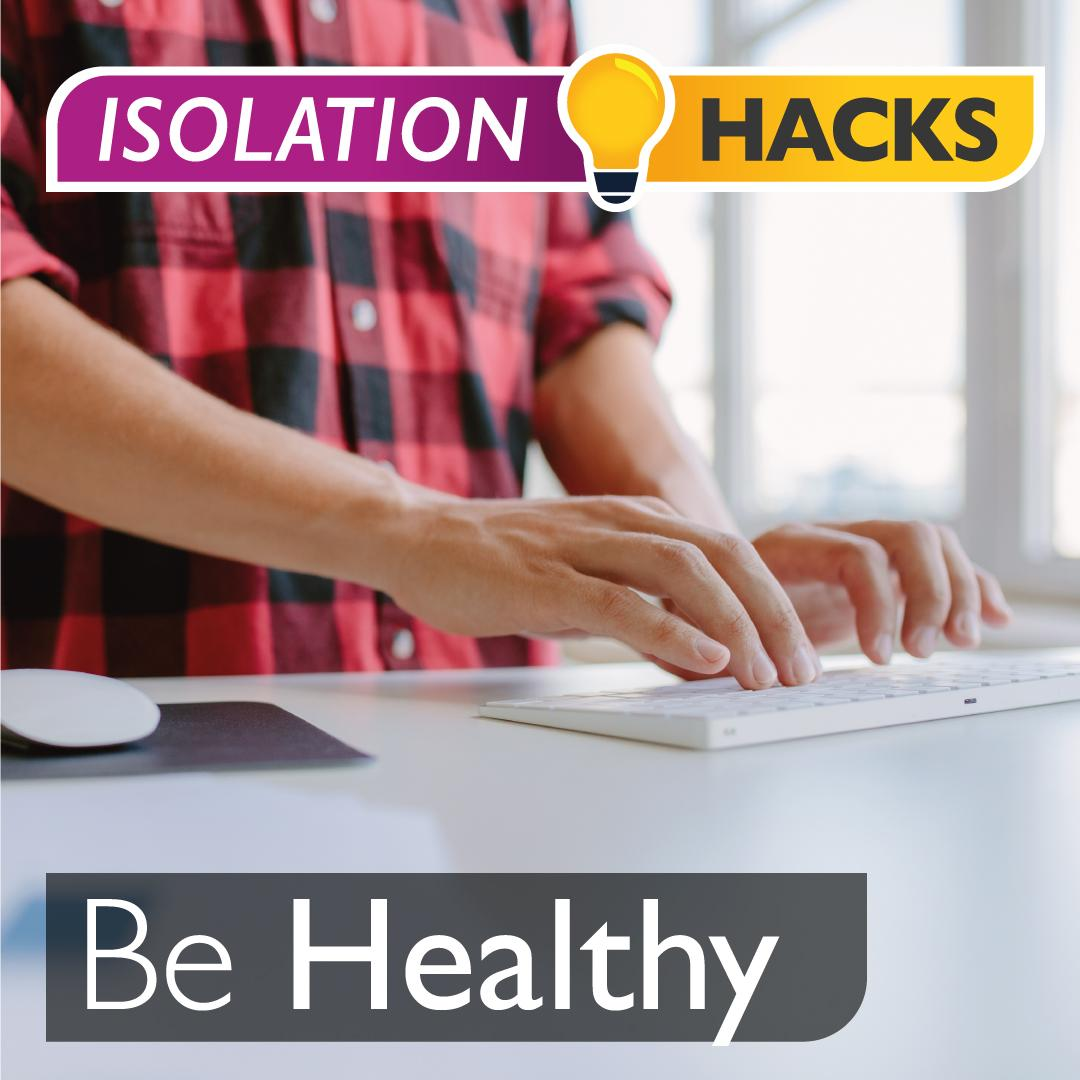 Be Healthy: Make your own standing desk