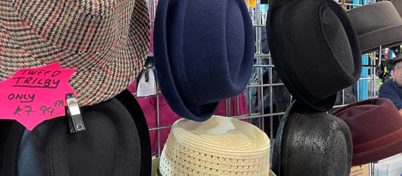 Faces of the Markets: Hat City