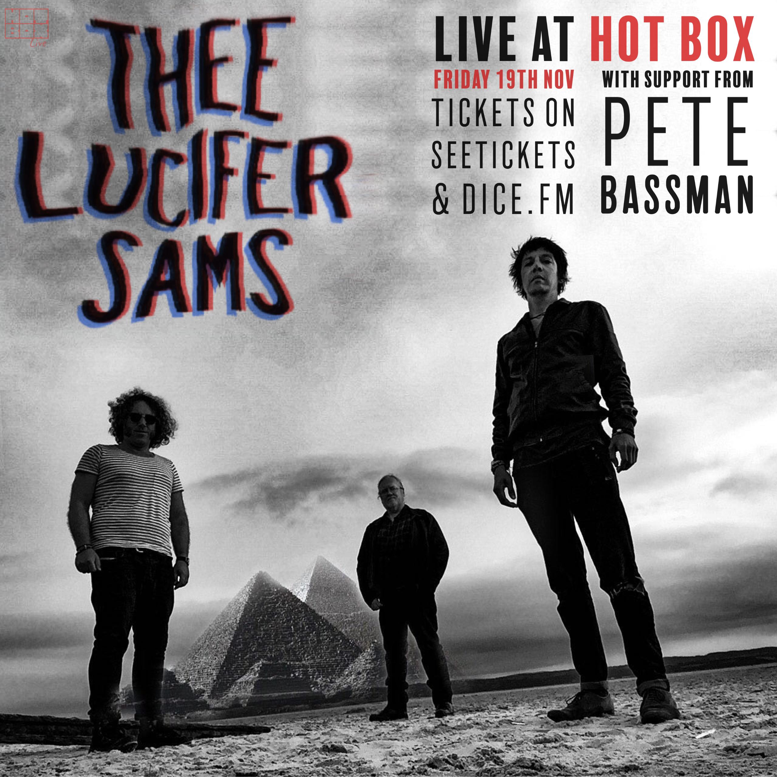 THEE LUCIFER SAMS / PETE BASSMAN