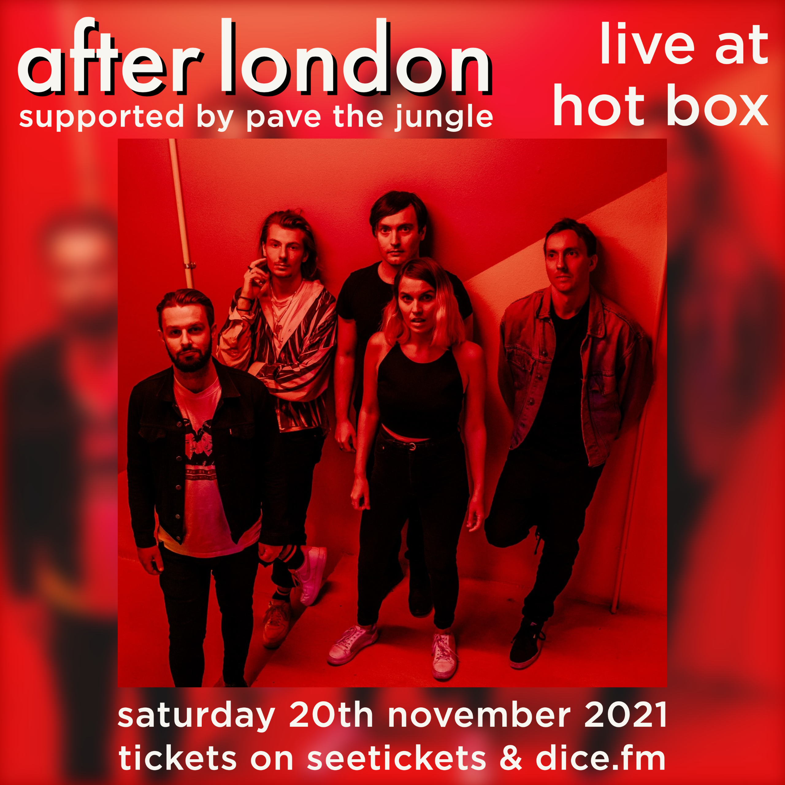 AFTER LONDON / PAVE THE JUNGLE