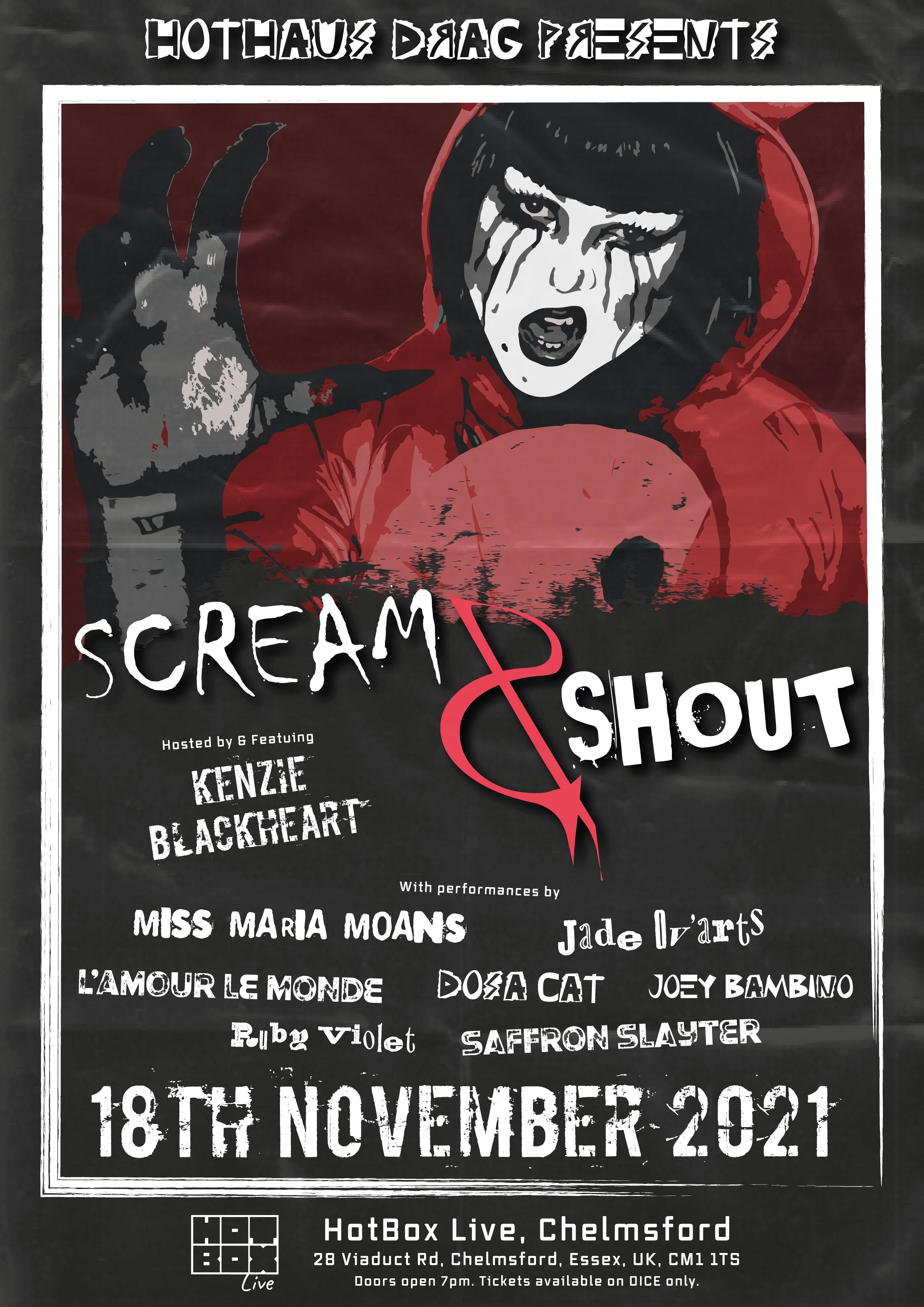 HOTHAUS DRAG PRESENTS: SCREAM & SHOUT